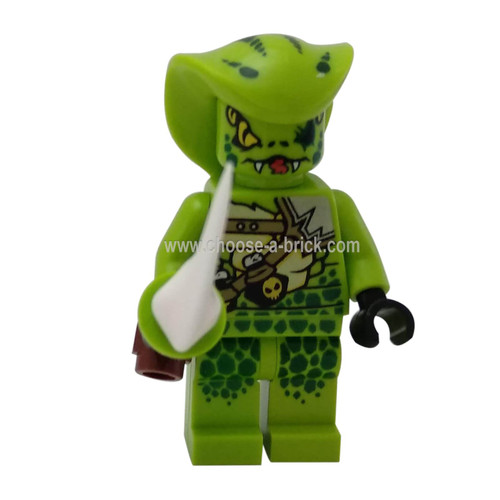 Lasha (Legacy) with weapon - LEGO Minifigure Ninjago