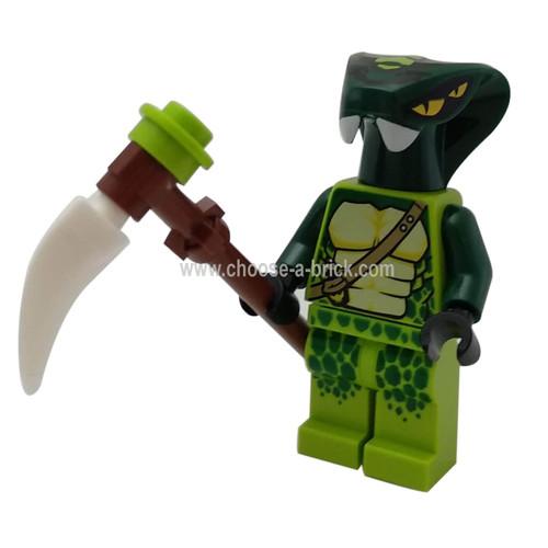 Spitta (Legacy) with weapon - LEGO Minifigure Ninjago