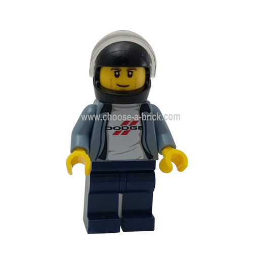 1970 Dodge Charger R-T Driver - LEGO Minifigure Speed Champions