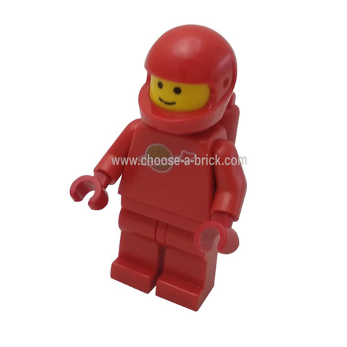 Classic Space - Red with Airtanks - LEGO Minifigure Space