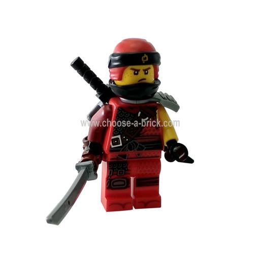 Kai - Hunted, Flat Silver Side-Scabbard - LEGO Minifigures Ninjago