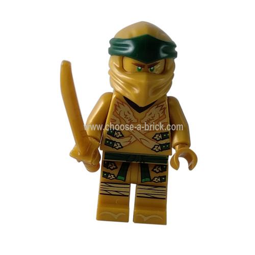 Lloyd - Golden Ninja Legacy with swords - LEGO Minifigure Ninjago