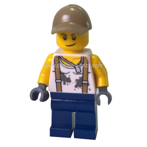 City Jungle Engineer - LEGO Minifigure City