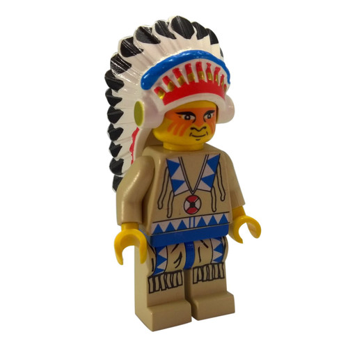 Indian Chief 2 - LEGO Minifigure Western