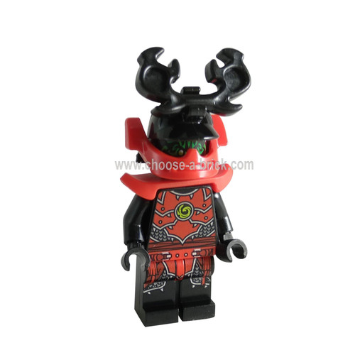 Stone Army Warrior with Shoulder Armor and Helmet with Chin Guard Legacy,weapon - LEGo Minifigure Ninjago