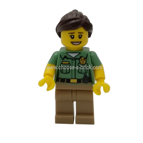 Animal Control - Minifigure only Entry - LEGO Monifigure Collectibles