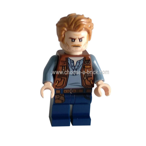 Owen Grady, Backpack - LEGO Minifigure Jurassic World