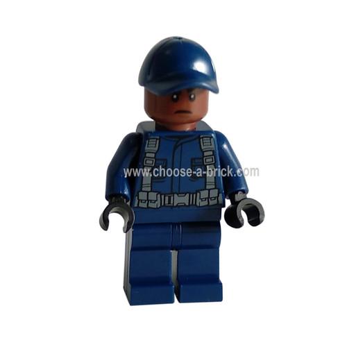 Jurrassic World guard - LEGO Minifigure Jurassic World
