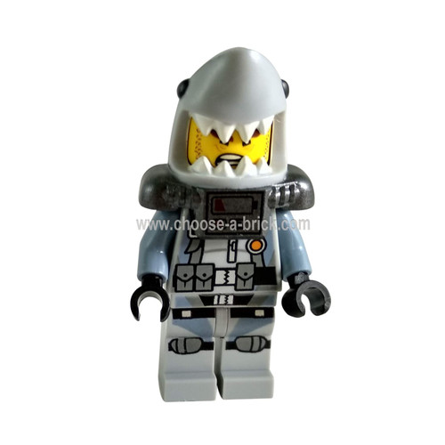 Shark Army Great White - Scuba Suit, Airtanks - LEGO Minifigure Ninjago