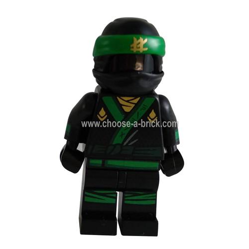 Green Ninja Suit - LEGO Minifigure Ninjago