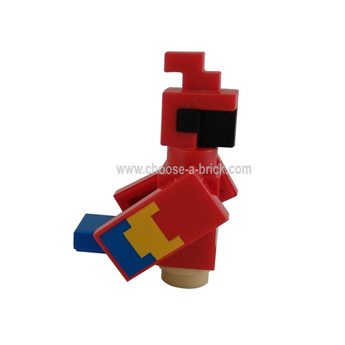 Minecraft Parrot - LEGO Minifigure Minecraft