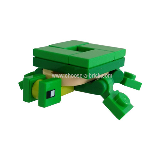 Minecraft Turtle - LEGO Minifigure Minecraft