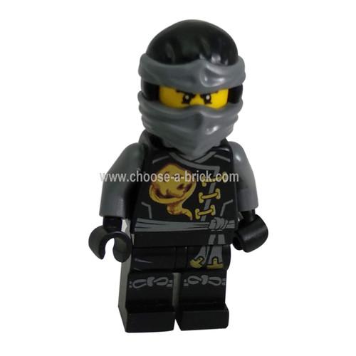 Cole - Skybound with Neck Bracket and Modified Tile - LEGO Minifigure Ninjago