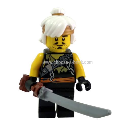 Teen Wu (Dragon Hunter) with weapon - LEGO Minifigure Ninjago