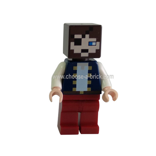 Minecraft pirate with sword - LEGO Minifigure Minecraft