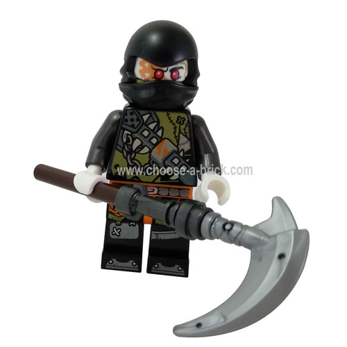 Skullbreaker with weapon - LEGO Minifigure Ninjago