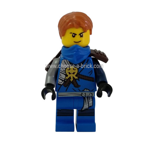 Jay 70596 with weapon - LEGO Minifigure Ninjago