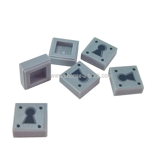 Tile 1 x 1 with Keyhole Pattern - LEGO Parts and Pieces