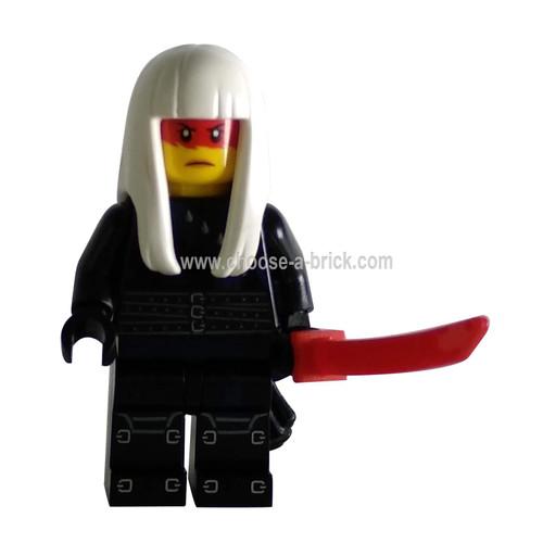 Harumi - Hunted with weapon - LEGO Minifigure Ninjago