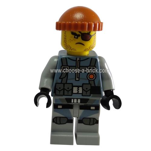 Shark army thug - LEGO Minifigure Ninjago