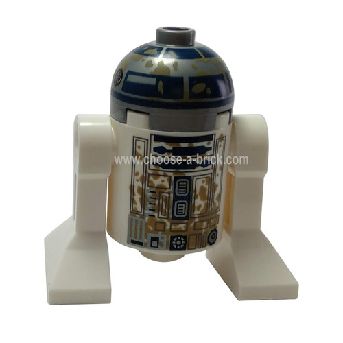R2-D2 with Dirt Stains - LEGO Minifigure Star wars
