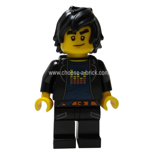 Cole Pixel Bars - LEGO Minifigure Ninjago
