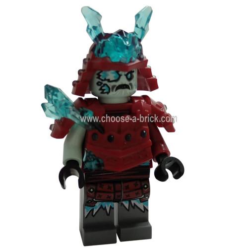 Blizzard Warrior with weapon - LEGO Minifigure Ninjago