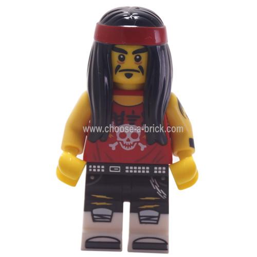 Gong & Guitar Rocker - LEGO Minifigure Ninjago