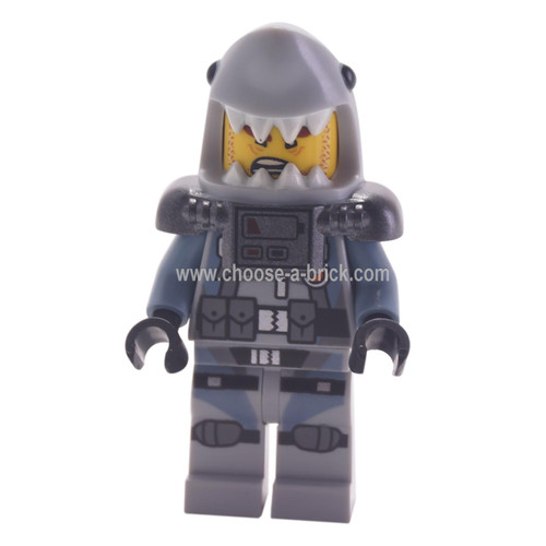 Shark Army Great White - LEGO Minifigure Ninjago
