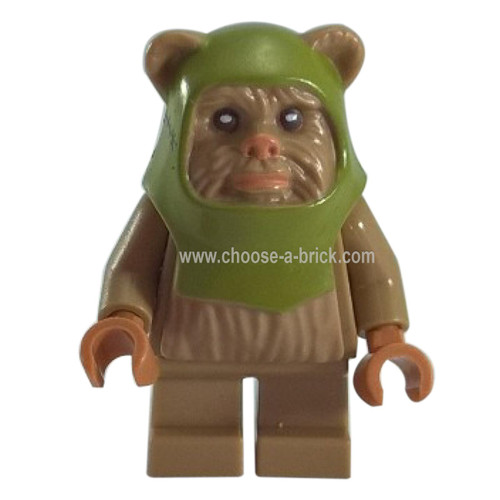 LEGO Minifigure - Ewok Warrior 10236