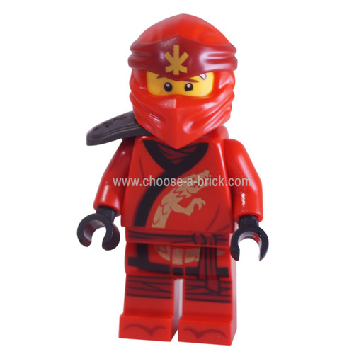 LEGO Minifigure - Kai - Secrets of the Forbidden Spinjitzu