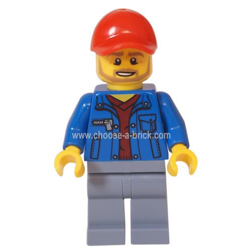 LEGO Minifigure - Track Offical (75894)
