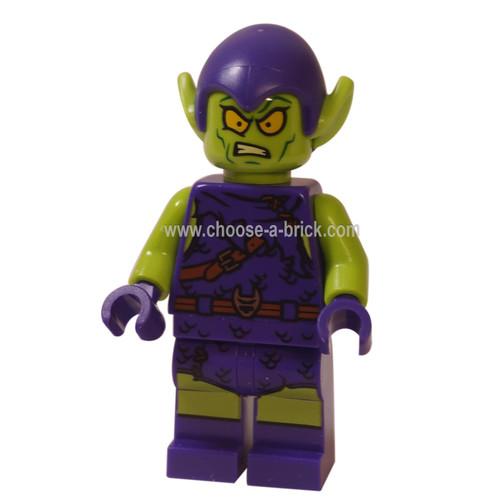 LEGO Minifigure - Green Goblin - Dark Purple Outfit