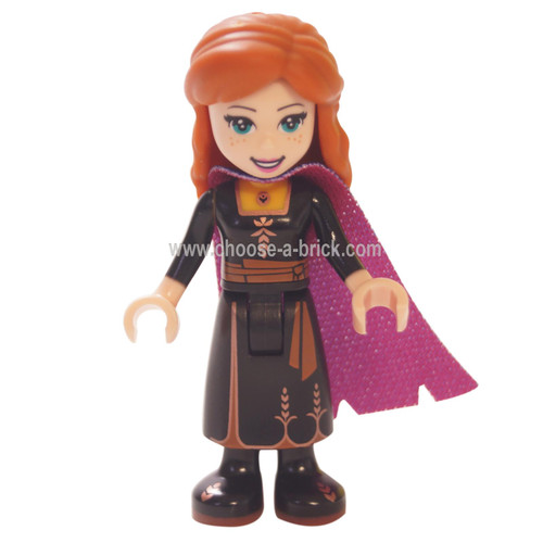LEGO Minfigure -  Anna - Black Dress (Frozen II)
