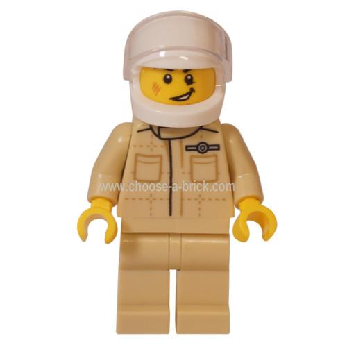 LEGO Minfigure - MINI John Cooper Works Buggy Driver