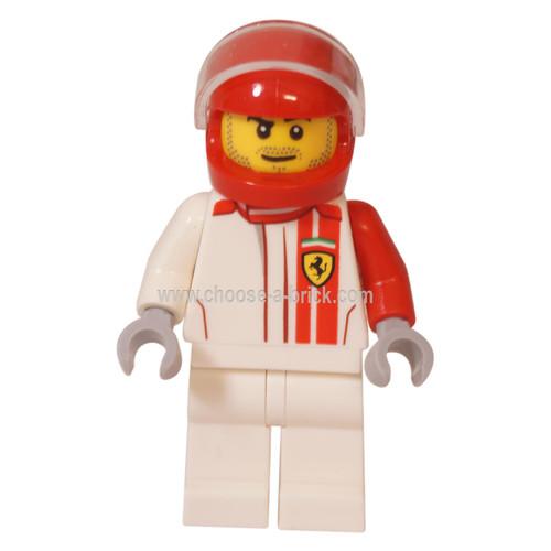 LEGO Minifigure - Ferrari F40 Competizione Driver