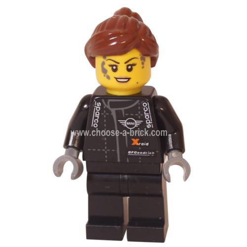LEGO Minifigure - Mini Mechanic, Female