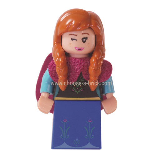LEGO MInifigure - Anna - collectible minifigures series 2