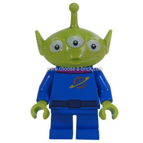 LEGO Minifigure - Alien (magenta collar)