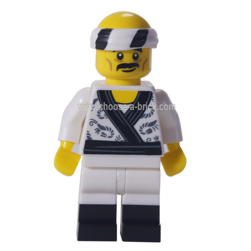 Sushi Chef - LEGO Minifigure