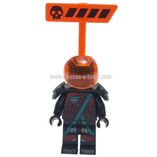 LEGO Minifigure - Red Visor