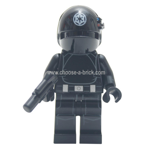 LEGO Minifigure -  Imperial Gunner (Closed Mouth, White Imperial Logo)