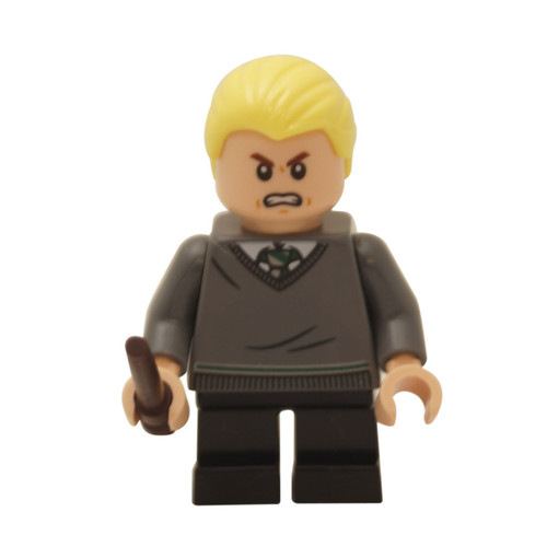 Draco Malfoy with wand