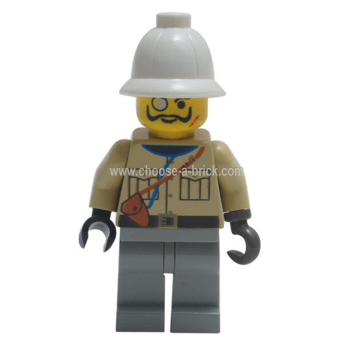 LEGO Minifigure Adventure - Baron Von Barron with Pith Helmet