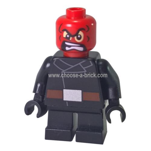 LEGO MInifigure - Red Skull - Short Legs
