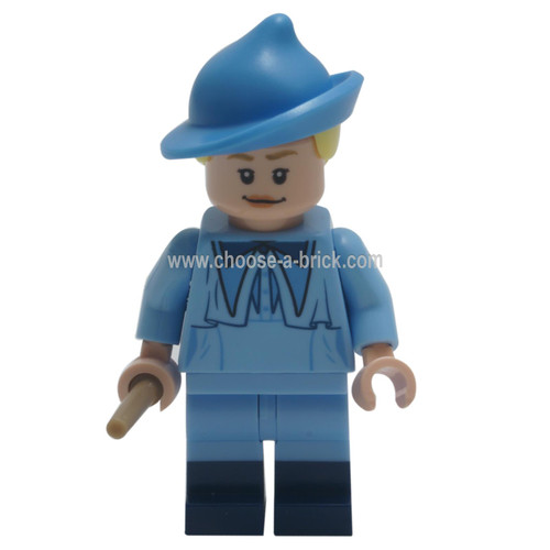 LEGO MInifigure Harry Potter - Fleur Delacour, Bright Light Blue Robe