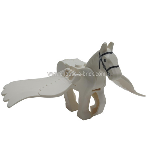 LEGO MInifigure -  white horse Pegasus - Harry Potter