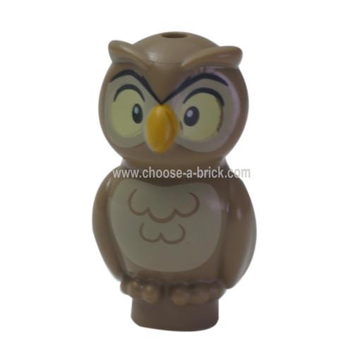 LEGO MInifigure - Owl, Elves with Bright Light Orange Beak
