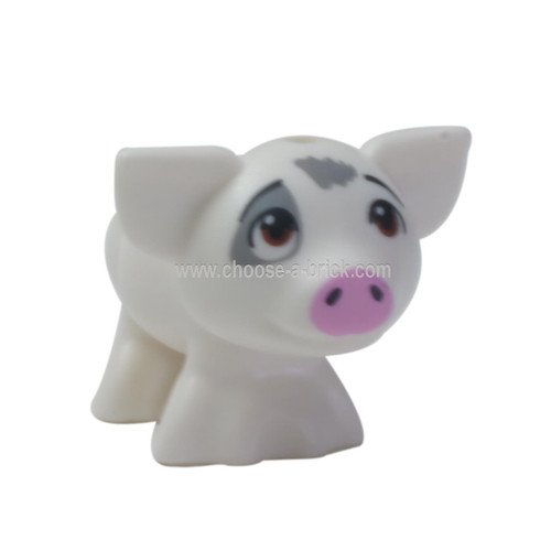 LEGO Minifigure - Pig of Moana with Eyes Looking Upward (Pua)