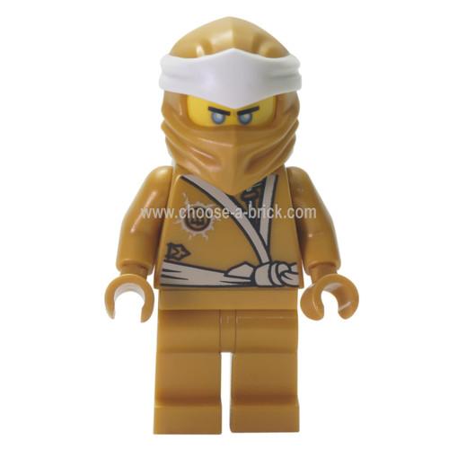 LEGO Minifigure -  Zane (Golden Ninja)